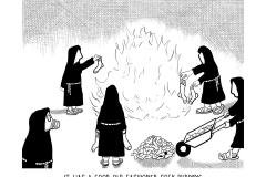 sock-burning